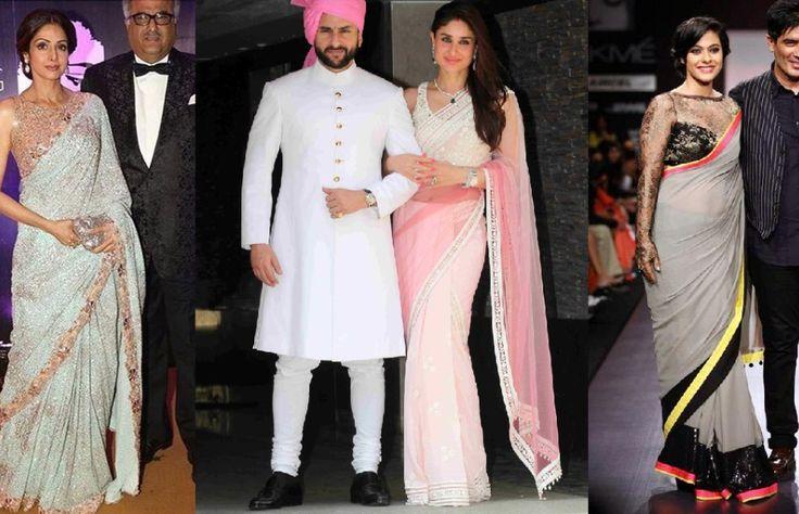 6 Times #Manish #Malhotra Sarees adorned our #Bollywood #celebs! #designer #blog #celebstyle