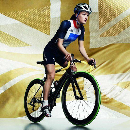 @TeamGB London 2012 kit, designed by Stella McCartney