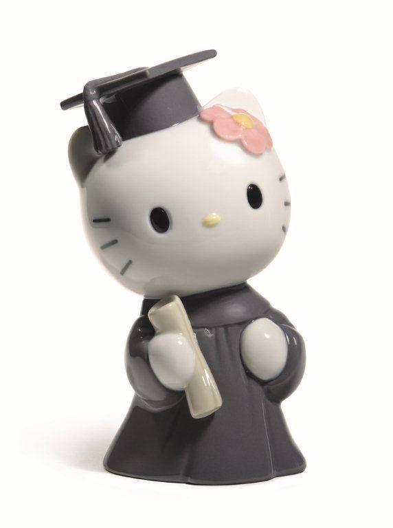 hello kitty porcelain graduate figurine by NAO