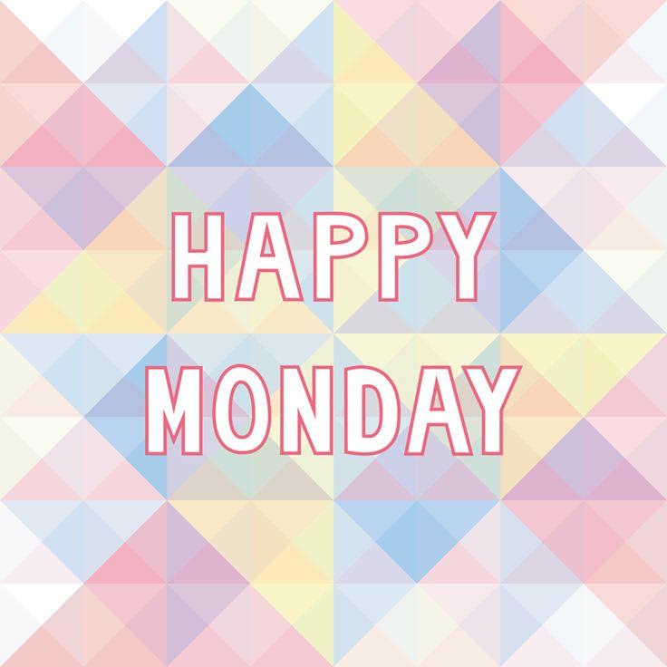 Montage müssen nicht immer blöd sein! ;) Ich wünsche euch einen tollen Wochenstart!   #wochenbeginn #montag