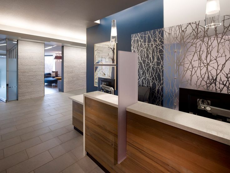 Swedish Medical Center | Installations | 3form. Tile flooring in reception and business office.