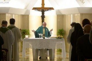 Ferenc pápa: Az egyház kincse Jézus, és nem a világ bizonyosságai