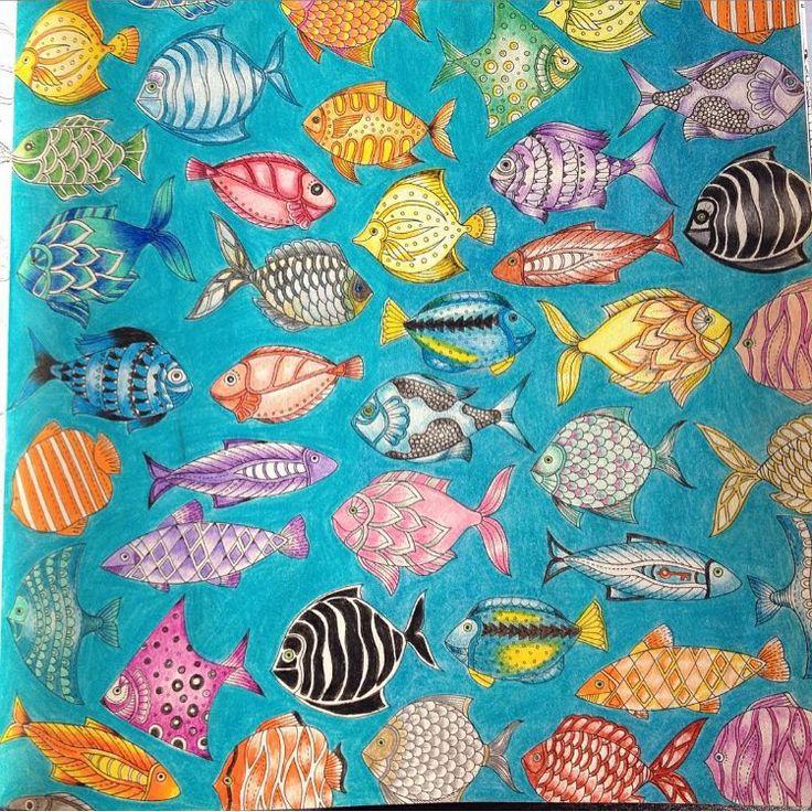 330 Best Color Book Lost Ocean Johanna Basford Images On