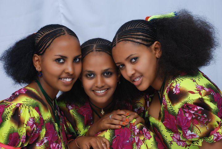 Eritrean Girls  Schne Afrikanische Frauen, Schwarz Ist -3793