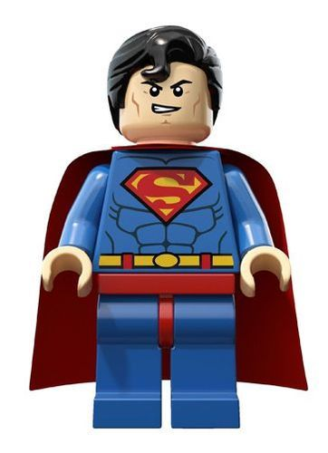 LEGO Super Heroes Superman Minifigure Minifig 6862 $11.99