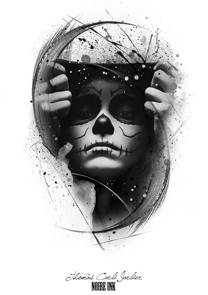 poster mexican skull
