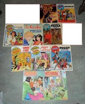 ** 10 Strips voor meisjes Girls - Tina + Noortje + Debbie