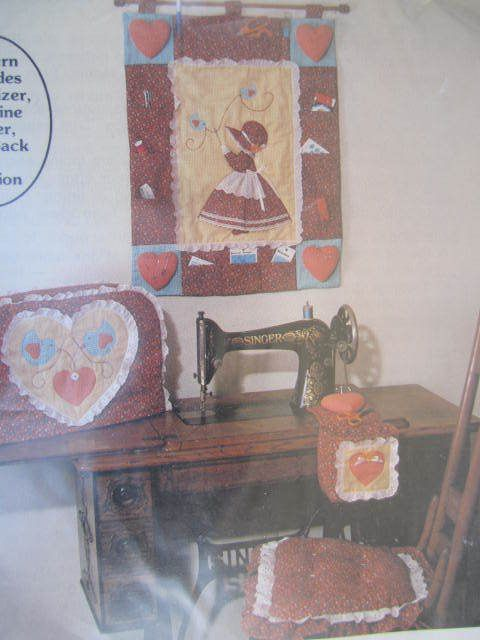 SeeSallySew.com - Sweet Sue's Sunbonnet Wall Hanging Organizer Cover Cushion Snip Sack The Gingham Goose Pattern GGP 042, $8.99 (http://stores.seesallysew.com/sweet-sues-sunbonnet-wall-hanging-organizer-cover-cushion-snip-sack-the-gingham-goose-pattern-ggp-042/)