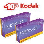 PELLICOLE KODAK COLORE Portra 160 e 400 120  sconto 10%  info@fotomatica.it | www.fotomatica.it #analog #photography #rullini