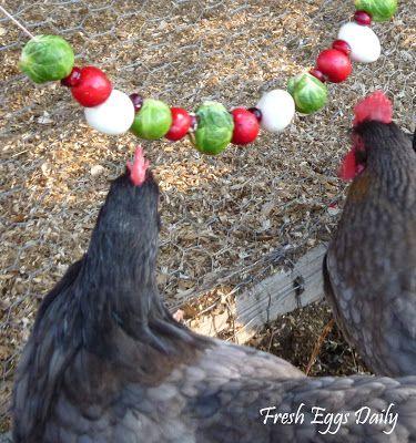 Fresh Eggs Daily: Edible Garlands