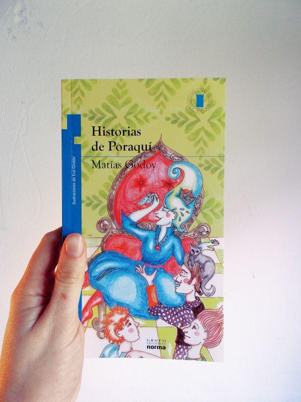 Historias de Poraquí. by Eva Giraldo, via Behance