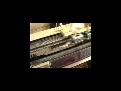 Платинг. Машинное вязание - YouTube