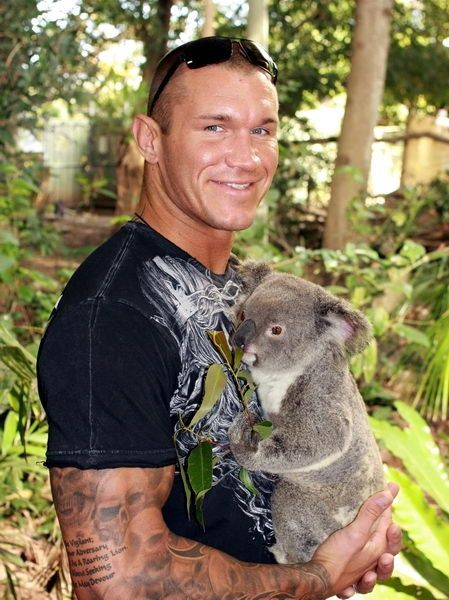 Randy Orton, #WWE F*cking adorable!!
