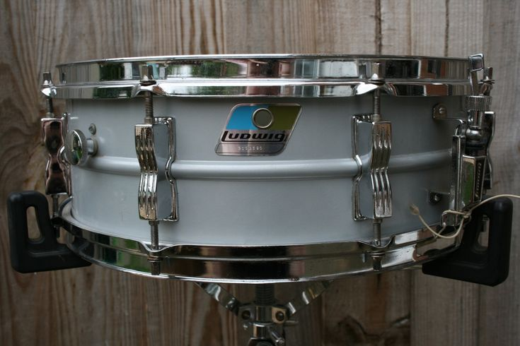 Ludwig Late 70 S Rounded Badge Acrolite Badge 70s Drums