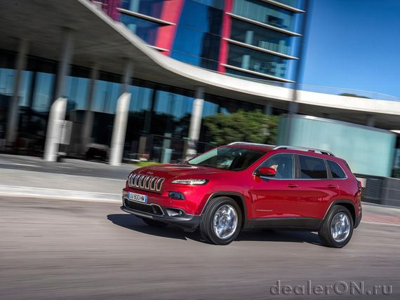 Внедорожник Джип Чероки 2014 / Jeep Cherokee 2014