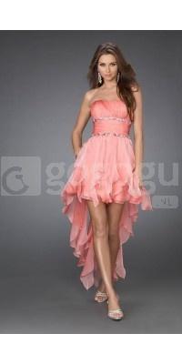 Hot Koop! 2012 Roze Cocktailjurken Catwalk Model Kleding - Opnieuw gesneden prijzen!  Now  € 79!!!!
