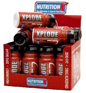Xplode is an innovative product which, in our view, is a great 'pick me up' shot to drink 30 minutes before training. #NutritionX #Xplode #Shots #PreWorkout