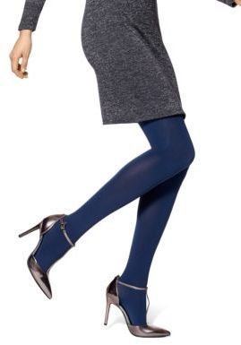 Hue Absolute Opaque Tights - Constructed from a stretchy nylon and spandex blend, this opaque design offers comfort and versatility. Shop at www.fashion-tights.net #tights #pantyhose #hosiery #nylons #legs