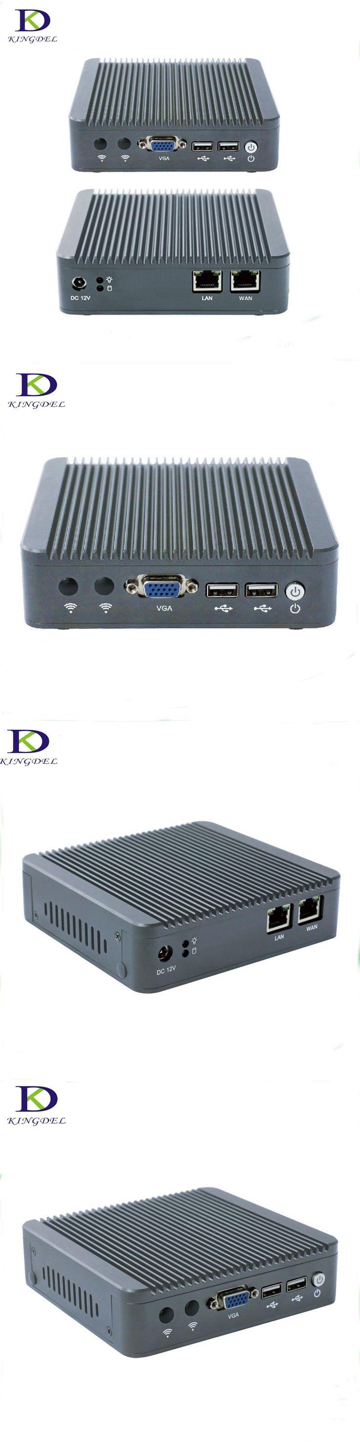 Small Fanless PC Qual-Core Celeron J1800 1* HDMI,1*VAG, Micro Computer 8G RAM Wifi Intel  2.41 GHz Mini PC 2*USB 2.0 ,2*LAN