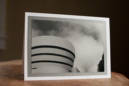 Greeting Card Photography Blank 5 x 7 Guggenheim, New York City $5.00