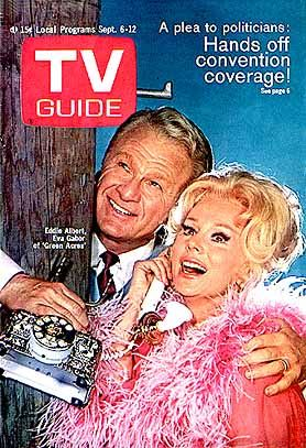 Green Acres: TV Guide Cover For September 6, 1969 - Sitcoms Online ...