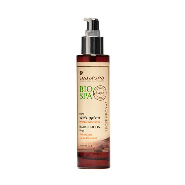 Silikonowe krople do włosów. Produkt zapewnia włosom lśniący i promienisty wygląd. Zabezpiecza włosy przed zlepianiem. Produkt wzbogacony o ekstrakt z rokitnika zwyczajnego.