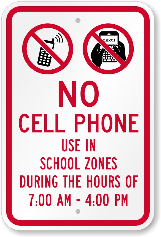cell phones use in schools The use of cell phones by students during a bomb threat, and specifically in the presence of an actual explosive device, also may present some risk for potentially detonating the device as public safety officials typically advise school officials not to use cell phones, two-way radios, or similar communications devices during such threats.