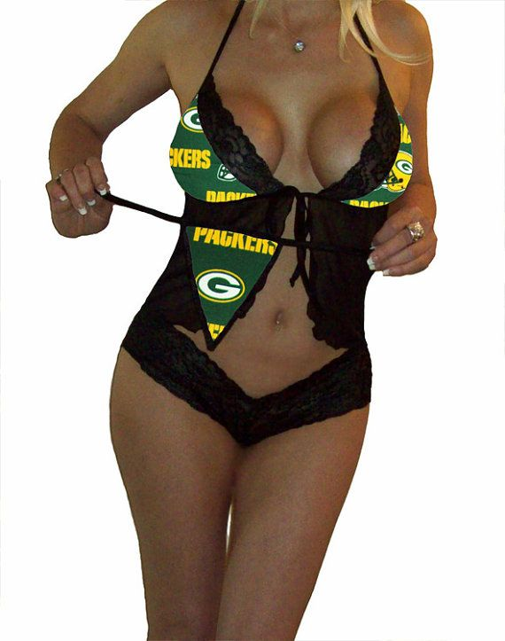Hey, I found this really awesome Etsy listing at https://www.etsy.com/listing/115191635/nfl-lingerie-green-bay-packers-sexy-cami