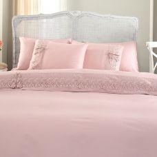 Caroline-Nevresim / Duvet Cover Çarşaf / Sheet 2 Adet Güpürlü Yastık / 2 Pieces of Guipure Pillow 2 Adet Düz Yasık / 2 Pieces of Flat PillowNevresim / Duvet Cover Çarşaf / Sheet 2 Adet Güpürlü Yastık / 2 Pieces of Guipure Pillow 2 Adet Düz Yasık / 2 Pieces of Flat Pillow