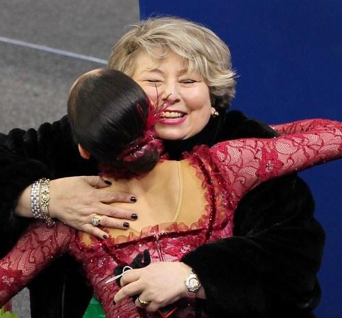 Mao Asada & Coach Tarasova / 2010 Vancouver