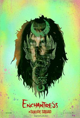Suicide Squad Enchantress GIF Poster