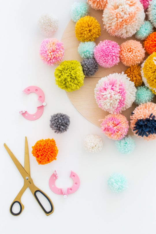 Pom Pom Wall Hanging best 25+ hanging pom poms ideas that you will like on pinterest