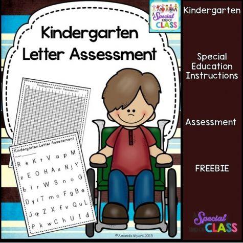 Kindergarten Letter Assessment Pack
