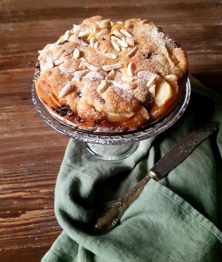 Torta di mele e uvetta - Csaba dalla Zorza