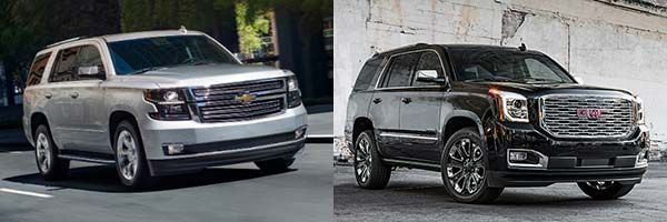 2020 Chevrolet Tahoe Vs 2020 Gmc Yukon