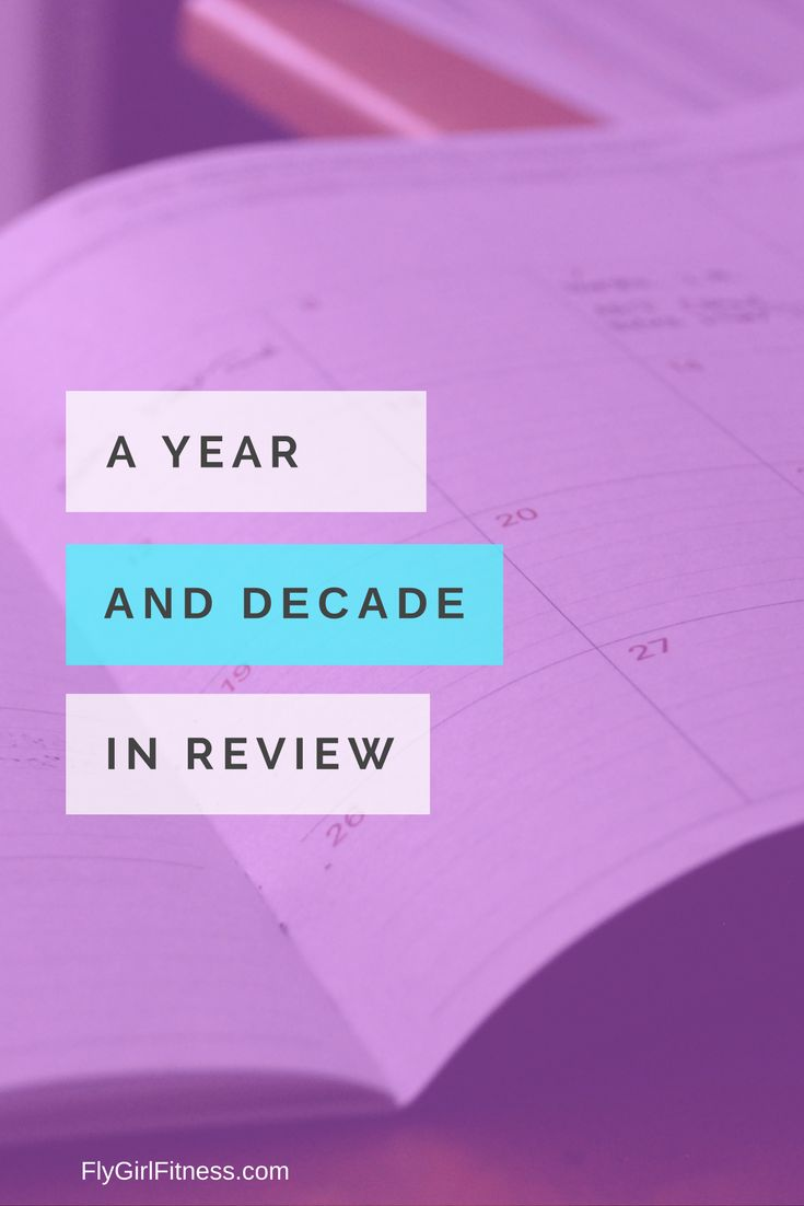 A Year (and decade) in Review