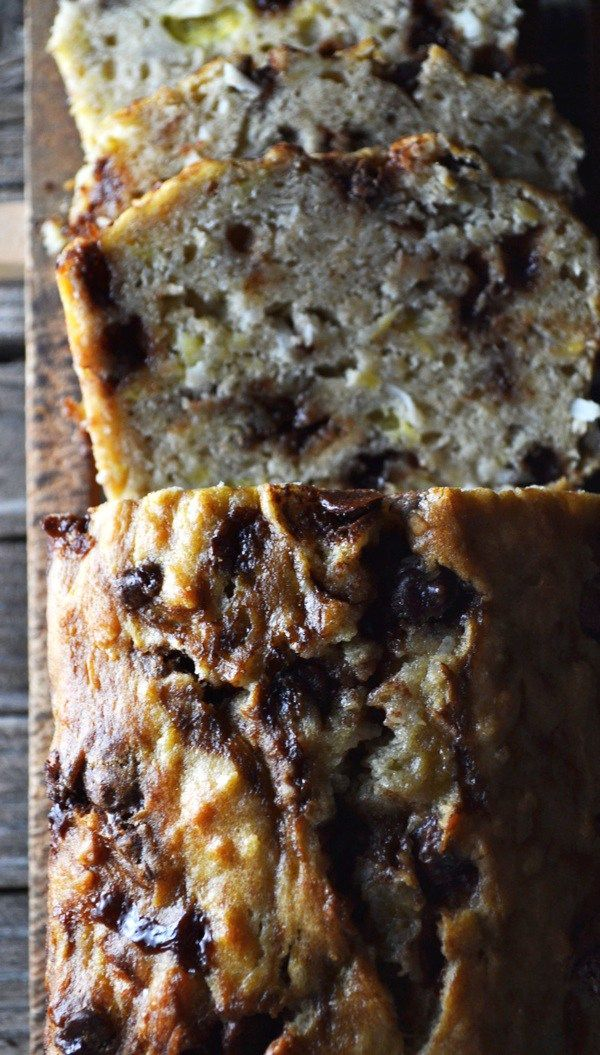 56 best bread recipes muffin recipes images on pinterest cinnamon chocolate chip coconut banana bread recipe the mormon food guy forumfinder Choice Image