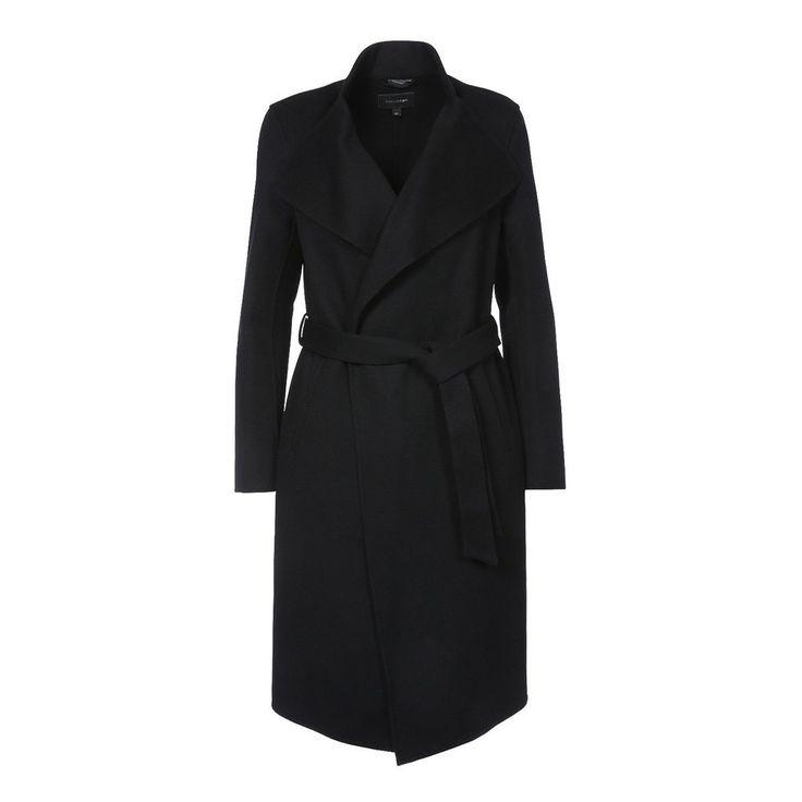 Leora Wool Belted Coat by Mackage