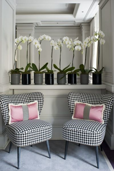 Italian textile designer, Dedar.  From Place Vendome - posted by Sara Bliss on her blog. #interior #design #fabric
