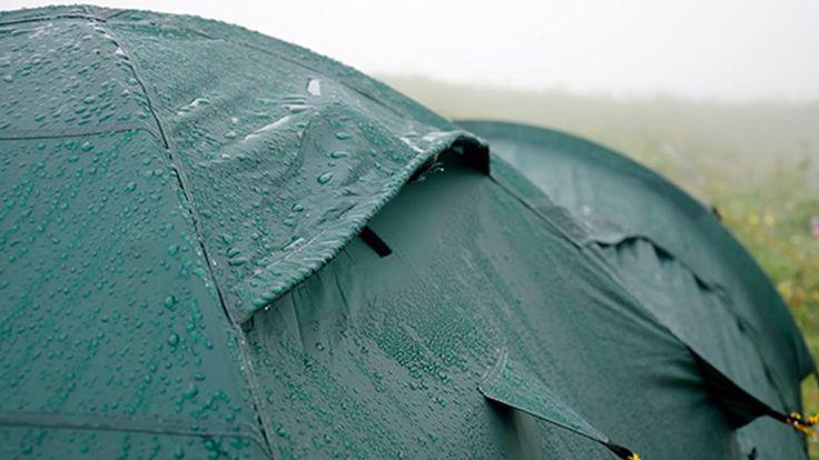 Astuces pour #camper sans soucis sous la #pluie! #camping
