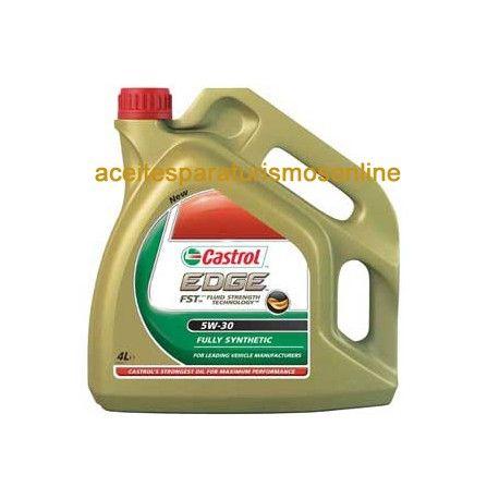 Aceite CASTROL EDGE FST 5W30 4 L. Todos nuestros aceites cuentan con la mayor calidad. aceitesparaturismosonline.com tienda aceites para turismos y coches en Madrid. Lubrica y mantén tu motor 100% funcional. Accede a nuestra tienda de aceites para coche.
