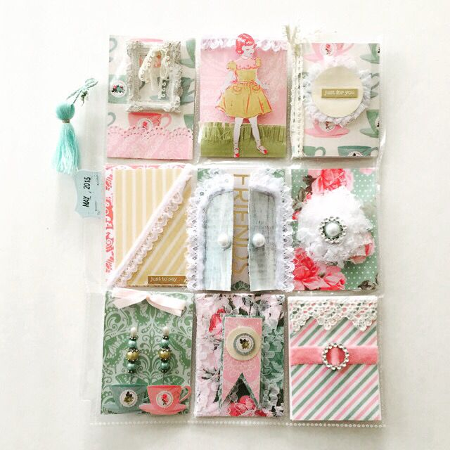 Shabby Chic pocket letter By Anna W  My work  Pinterest  Shabby, Chic and Shabby chic