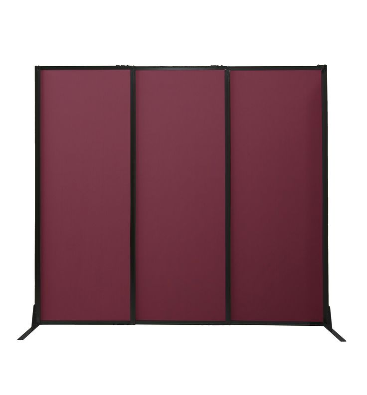 """The Quick-Wall (Sliding) is a telescoping partition that expands up to 7' long. Choose from heights of 70"""", 80"""", and 88"""" tall (without wheels), or heights of 72"""", 82"""", and 90"""" with wheels."""