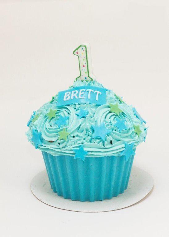 Baby Cake Smash Cupcake