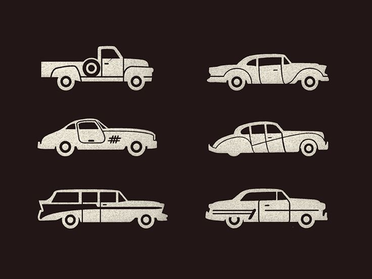 Cars by Jonathan Schubert #icon #iconic #icondesign #iconset #picto #car #cars #vehicle #auto