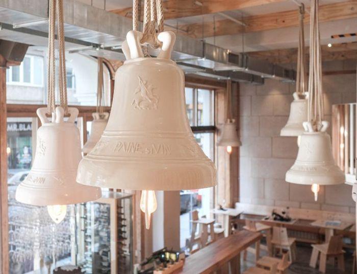 lighting solutions, bell pendants
