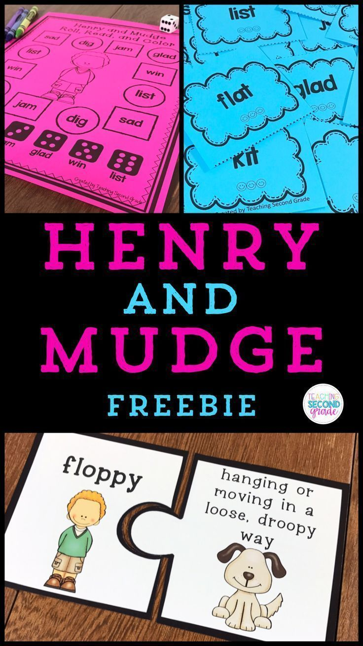 Henry and Mudge The First Book activities aligned to the Journeys Reading Series for 2nd Grade. These activities can easily be used without the having Journeys.