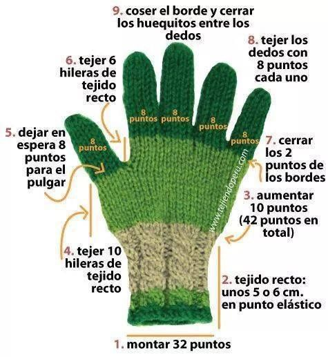 27 best images about mitones y guantes tejidos a gancho en