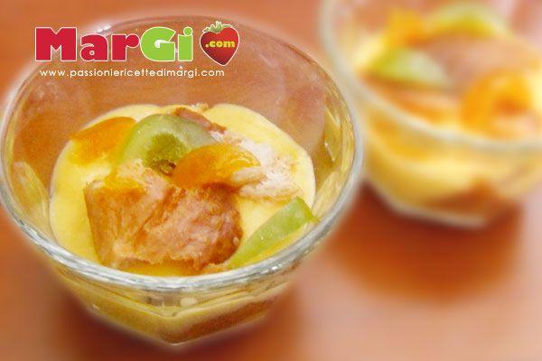 Ricetta crema di mandarino senza latte con canditi dessert golosi