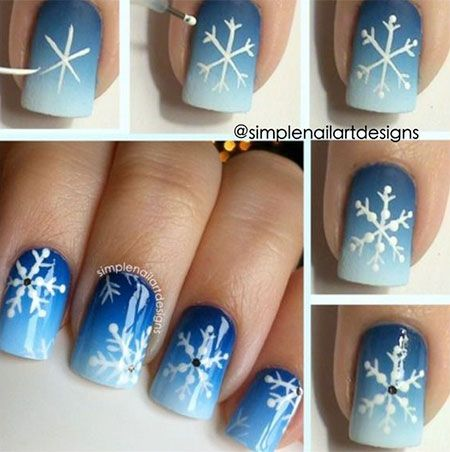 I'm telling you, all these nail art designs are so super cute. Some are perfect for Christmas and others for any time in winter. I'm definitely be having some of these. How cute is the let it snow with snow man? And the back and white gifts? It's so hard to choose and so little time to make them all LOL.